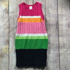Gymboree rainbow sweater dress